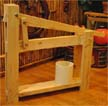 Homemade Cheese Press using the Micro Compound Lever Press
